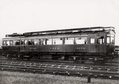 Electric Autocar in LNER Brown, after third engine installed, c1923