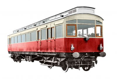 NER Electric Autocar 3171