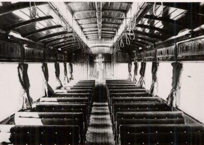 Original NER Electric Autocar interior