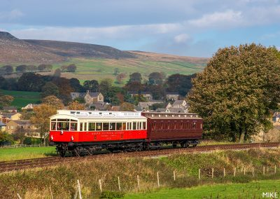 Autocar and Autocoach on Embsay & Bolton Abbey Steam Railway - 19 October 2018