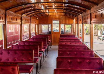 Interior of Autocar 3170